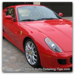 car paint colors will greatly affect the care and