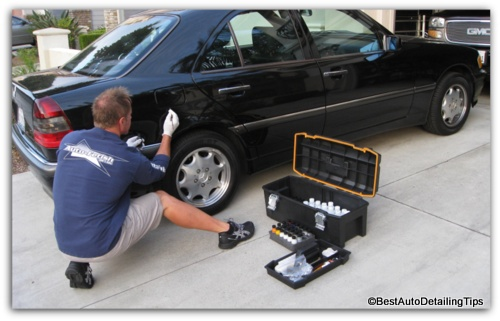 repairing chips on car paint