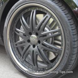 strut matte black wheel