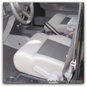 tight weave car upholstery cleaning