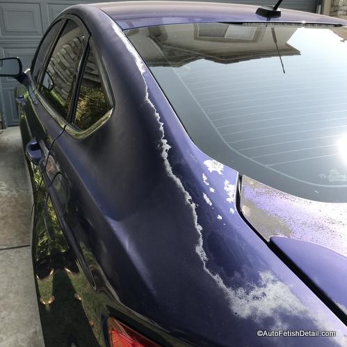 total clear coat failure