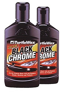 turtle wax black chrome