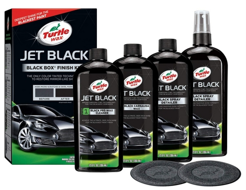 turtle wax jet black compounds polishes