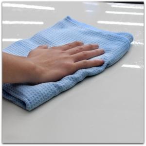 waffle weave car drying towel