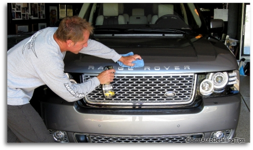 waterless auto detailing tricks