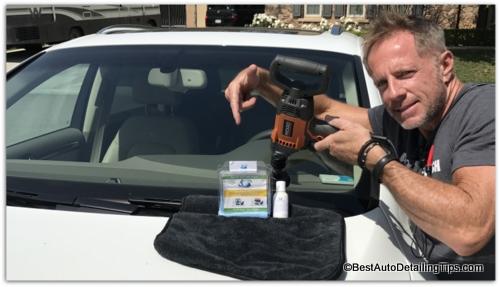 windshield scratch repair