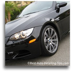 best car wax review on this black bmw m3