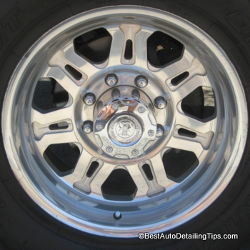 billet aluminum wheel