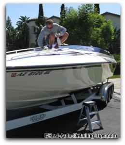 boat waxing tips