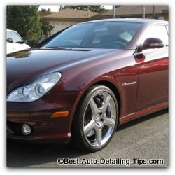 burgundy car paint color