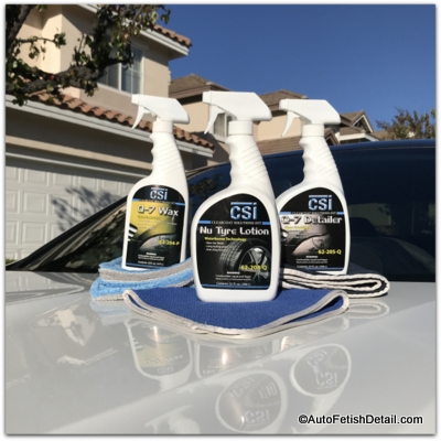 car care products for new car paint