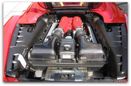 car engine picture ferrari F430