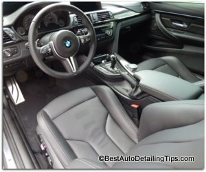 car upholstery cleaner bmw m4