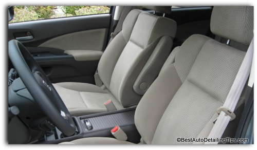 How to clean car upholstery easier than you have been told or think for How to clean interior car seats
