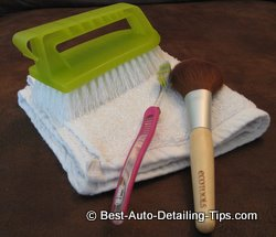 car inerior cleaning
