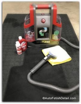 Carpet cleaning machine versus steam cleaner
