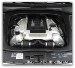 clean car engine tips