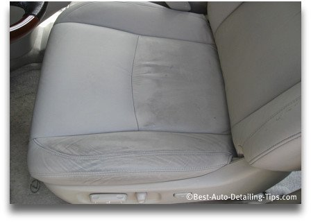 for truly clean leather car seats learn what the professional uses. Black Bedroom Furniture Sets. Home Design Ideas