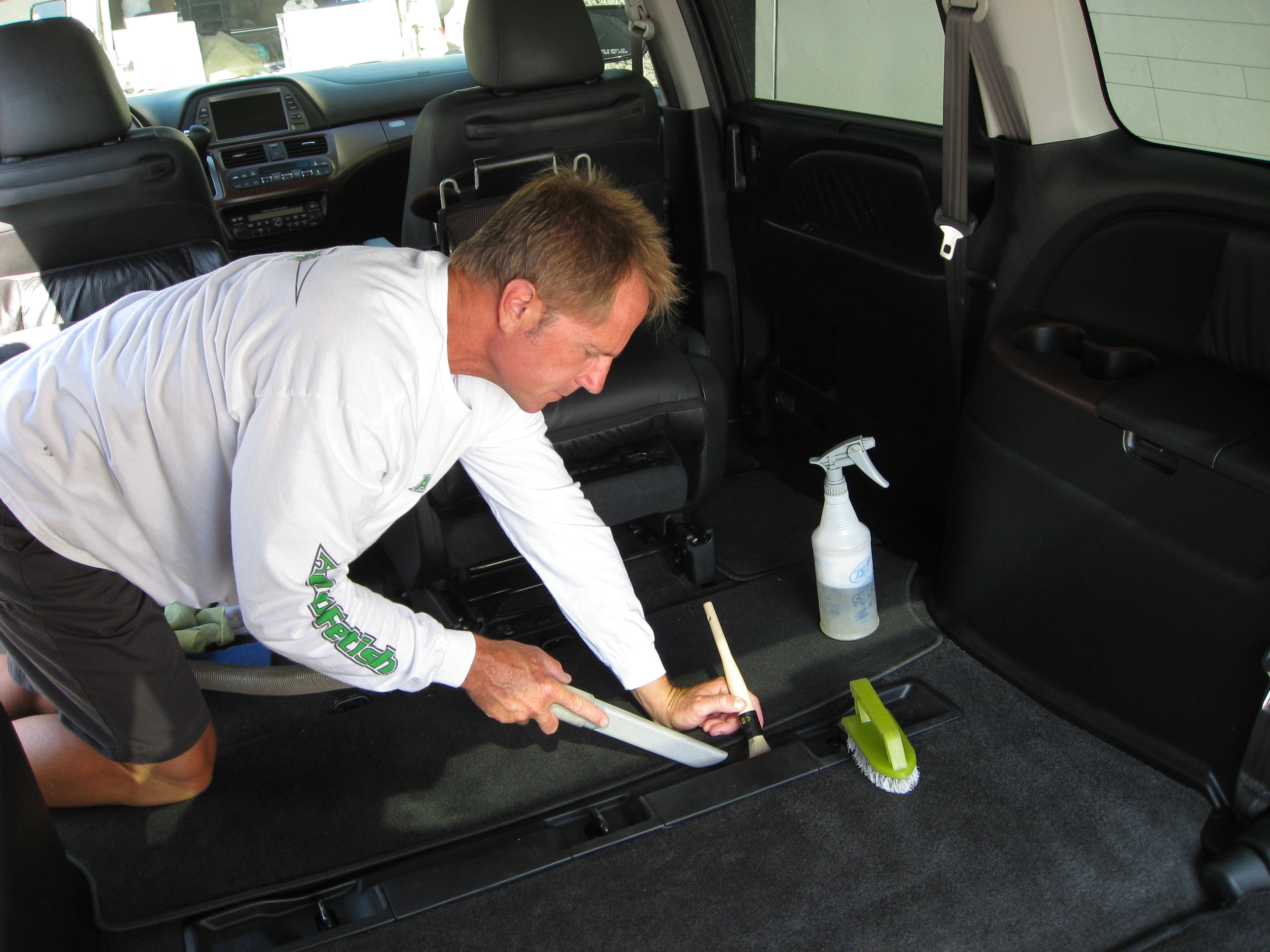 cleaning car seats how to
