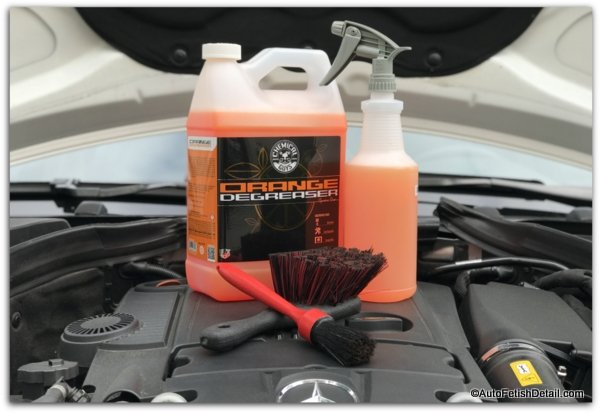 engine degreaser to clean car engine