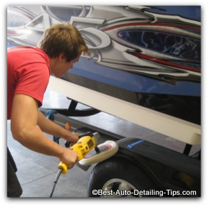 gel coat restoration polishing