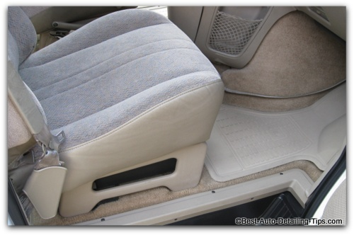 how to clean car upholstery tips