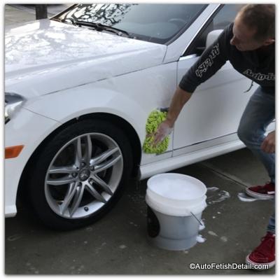 meguiars car wash soap washing car