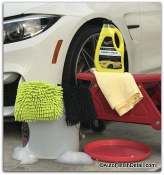 Meguiars Ultimate wash and wax to wash BMW