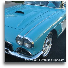 mothers car wax on corvette
