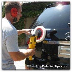 polishing mercedes benz