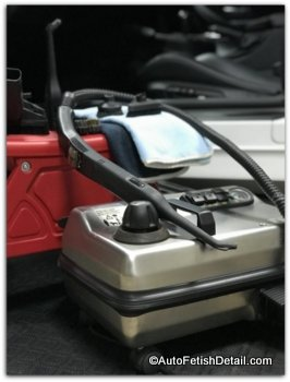 Professional car steam cleaner