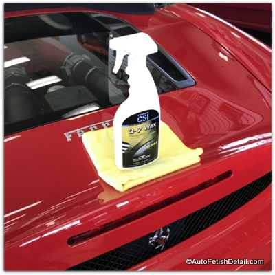 regular car wax versus colored car wax