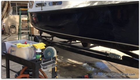 remove oxidation from boat