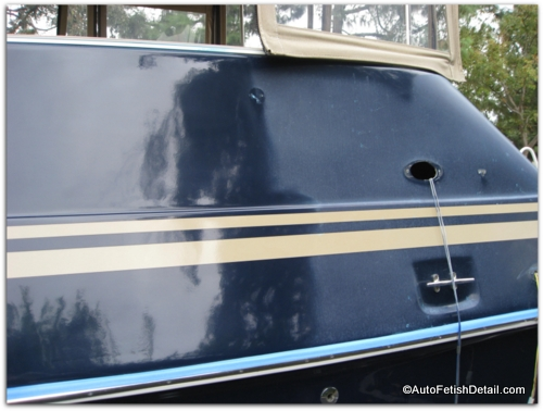 removing oxidation from boat