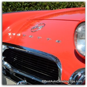 restoring car paint corvette