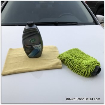 turtle wax car wash for new car paint