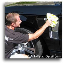 waterless auto detailing
